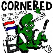 "Cornered / War Charge split 7"""