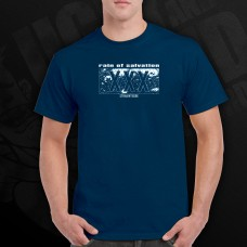 Rain Of Salvation - XXX shirt PRE-ORDER BLUE