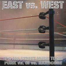 "V/A East vs West 7"""