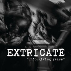 "Extricate - Unforgiving Years 7""  BLACK PRE-ORDER"