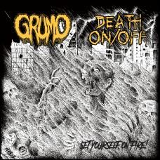"""Grumo / Death On/Off split 7"""""""