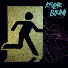 Kevlar Bikini - OPT-OUTism LP (marble with splatter)