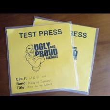 King of Sorrow - Bow To My Wrath LP TEST PRESS