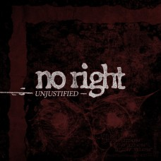 No Right - Unjustified ORANGE tape