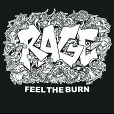 Rage - Feel The Burn 7""