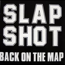 Slapshot - Back On The Map LP (RED VINYL)