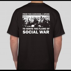 "xREIGNx - social war shirt + split 7"" bundle"